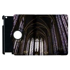 Sainte Chapelle Paris Stained Glass Apple Ipad 2 Flip 360 Case