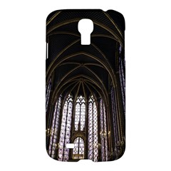 Sainte Chapelle Paris Stained Glass Samsung Galaxy S4 I9500/i9505 Hardshell Case