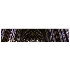 Sainte Chapelle Paris Stained Glass Flano Scarf (small)
