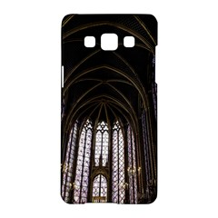 Sainte Chapelle Paris Stained Glass Samsung Galaxy A5 Hardshell Case