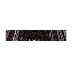 Sainte Chapelle Paris Stained Glass Flano Scarf (mini)