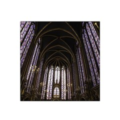 Sainte Chapelle Paris Stained Glass Satin Bandana Scarf