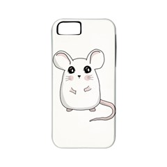 Cute Mouse Apple Iphone 5 Classic Hardshell Case (pc+silicone)