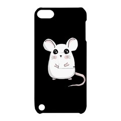 Cute Mouse Apple Ipod Touch 5 Hardshell Case With Stand