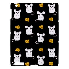 Cute Mouse Pattern Apple Ipad 3/4 Hardshell Case