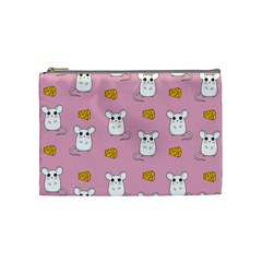 Cute Mouse Pattern Cosmetic Bag (medium)
