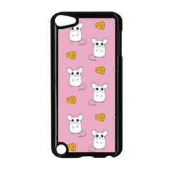 Cute Mouse Pattern Apple Ipod Touch 5 Case (black)