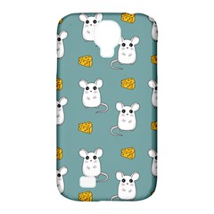 Cute Mouse Pattern Samsung Galaxy S4 Classic Hardshell Case (pc+silicone)