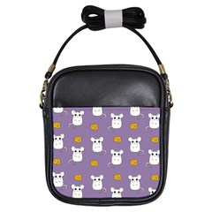 Cute Mouse Pattern Girls Sling Bags