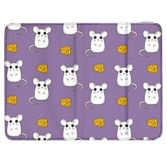 Cute Mouse Pattern Samsung Galaxy Tab 7  P1000 Flip Case