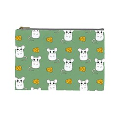 Cute Mouse Pattern Cosmetic Bag (large)