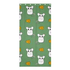 Cute Mouse Pattern Shower Curtain 36  X 72  (stall)