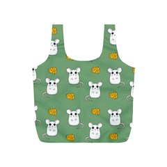 Cute Mouse Pattern Full Print Recycle Bags (s)