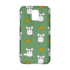 Cute Mouse Pattern Samsung Galaxy S5 Hardshell Case