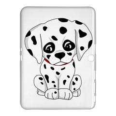 Cute Dalmatian Puppy  Samsung Galaxy Tab 4 (10 1 ) Hardshell Case