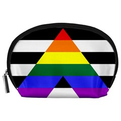 Straight Ally Flag Accessory Pouches (large)