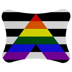 Straight Ally Flag Jigsaw Puzzle Photo Stand (bow)