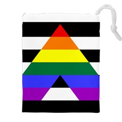 Straight Ally Flag Drawstring Pouches (xxl)
