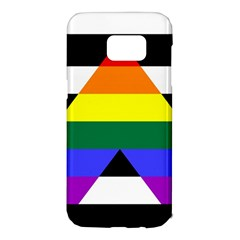 Straight Ally Flag Samsung Galaxy S7 Edge Hardshell Case