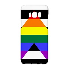 Straight Ally Flag Samsung Galaxy S8 Hardshell Case