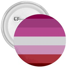 Lesbian Pride Flag 3  Buttons