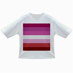 Lesbian Pride Flag Infant/toddler T Shirts