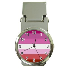 Lesbian Pride Flag Money Clip Watches