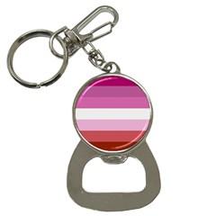Lesbian Pride Flag Button Necklaces