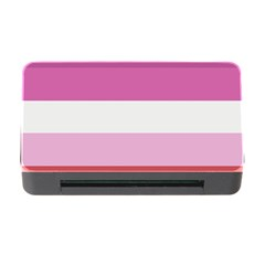 Lesbian Pride Flag Memory Card Reader With Cf