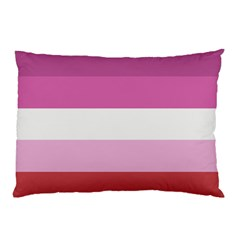 Lesbian Pride Flag Pillow Case (two Sides)