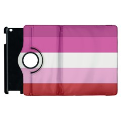 Lesbian Pride Flag Apple Ipad 2 Flip 360 Case
