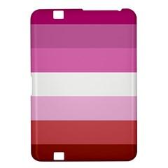 Lesbian Pride Flag Kindle Fire Hd 8 9