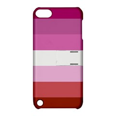 Lesbian Pride Flag Apple Ipod Touch 5 Hardshell Case With Stand