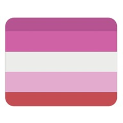 Lesbian Pride Flag Double Sided Flano Blanket (large)
