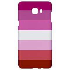 Lesbian Pride Flag Samsung C9 Pro Hardshell Case