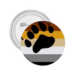 Bear Pride Flag 2 25  Buttons