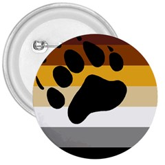 Bear Pride Flag 3  Buttons