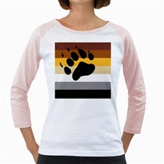 Bear Pride Flag Girly Raglans