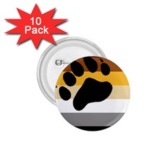 Bear Pride Flag 1 75  Buttons (10 Pack)