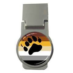 Bear Pride Flag Money Clips (round)