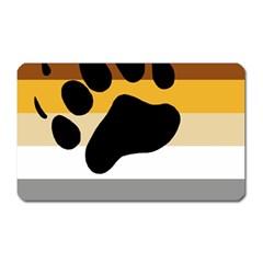 Bear Pride Flag Magnet (rectangular)