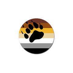 Bear Pride Flag Golf Ball Marker