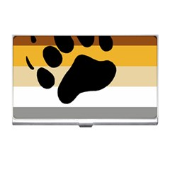 Bear Pride Flag Business Card Holders
