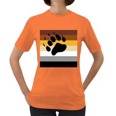 Bear Pride Flag Women s Dark T Shirt