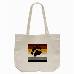 Bear Pride Flag Tote Bag (cream)