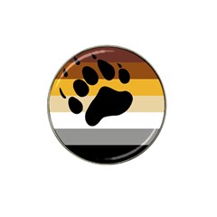 Bear Pride Flag Hat Clip Ball Marker