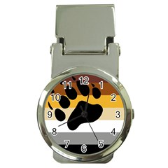 Bear Pride Flag Money Clip Watches