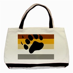 Bear Pride Flag Basic Tote Bag