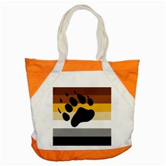 Bear Pride Flag Accent Tote Bag