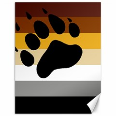 Bear Pride Flag Canvas 12  X 16